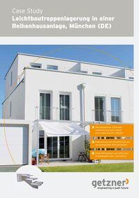 Case Study Leichtbautreppenlagerung in einer Reihenhausanlage, München (DE)