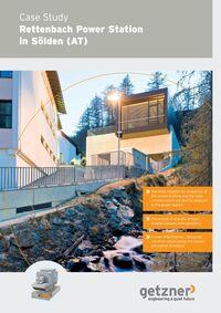 Case Study Rettenbach Power Station in Sölden EN