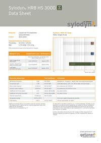 Data Sheet Sylodyn HRB HS 3000 EN