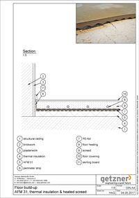 Floor build-up AFM 31