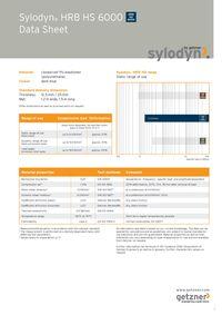 Data Sheet Sylodyn HRB HS 6000 EN
