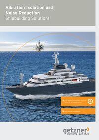 Brochure Vibration Isolation and Noise Reduction Shipbuilding Solutions EN