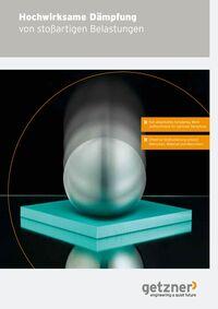 Broschüre Hochwirksame Dämpfung von stoßartigen Belastungen DE
