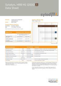 Data Sheet Sylodyn HRB HS 12000 EN
