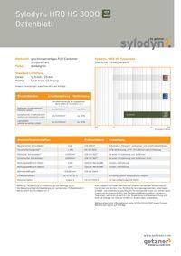 Datenblatt Sylodyn HS 3000 DE