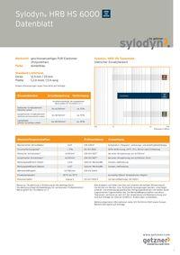 Datenblatt Sylodyn HRB HS 6000 DE