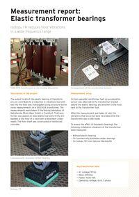 Measurement Report Elastic Transformer Bearing EN