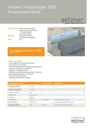 Data Sheet Getzner Stair Bearing SB10 DE.pdf