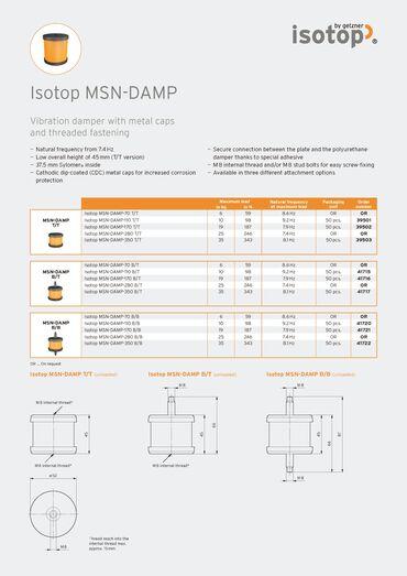Data Sheet Isotop MSN-DAMP EN.pdf