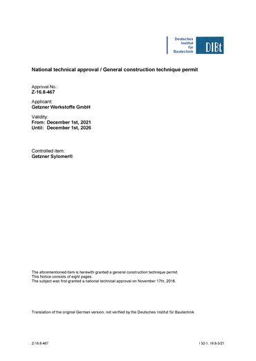 National technical approval Sylomer en.pdf