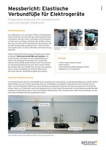 Measurement Report Elastic Base Feet for Electrical Appliances DE.pdf