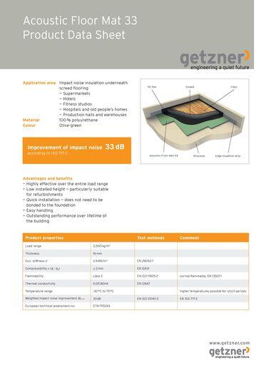 Data Sheet Acoustic Floor Mat 33 EN.pdf