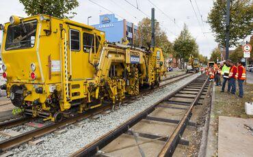 Embedded Rail Teilstrecken
