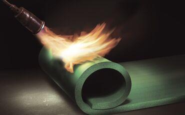 Neuer Schwingungsschutz für brandgefährdete Bereiche