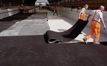 Installation Under ballast mats