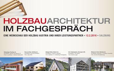 Holzbauarchitektur im Fachgespräch 2016 Salzburg