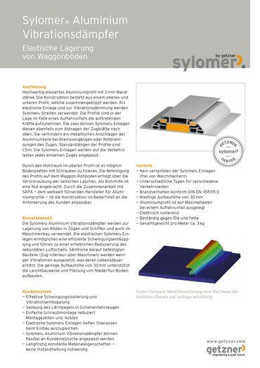 Data Sheet Sylomer Aluminium Vibration Damper DE.pdf