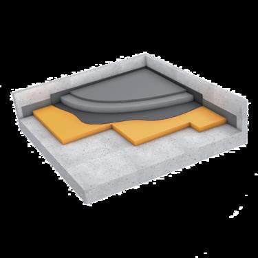 Getzner-Produkte-Bau-Fussbodenlagerung