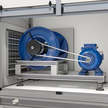 3D model HVAC fan