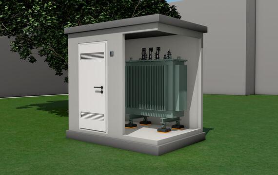 3D model HVAC transformer