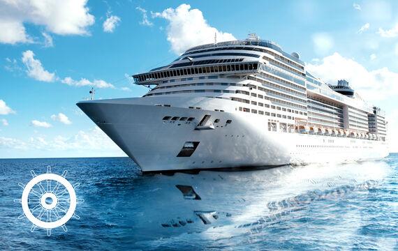 Aktionsbild Kreuzfahrschiff