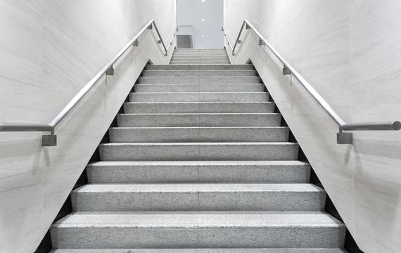 Concrete staircase Betontreppe, Massivtreppe, Stiege