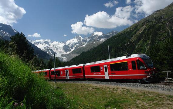 Rhaetische Bahn Header