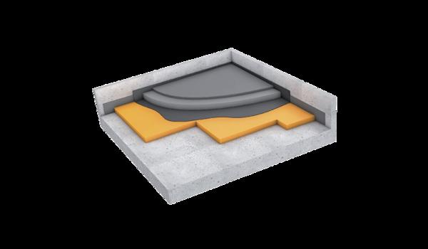Fußbodenlagerung Header