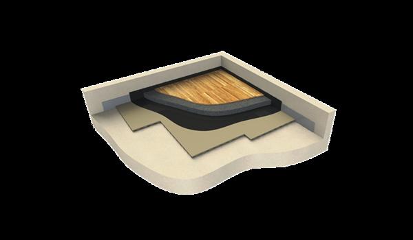 3D Fußbodenaufbau AFM 31