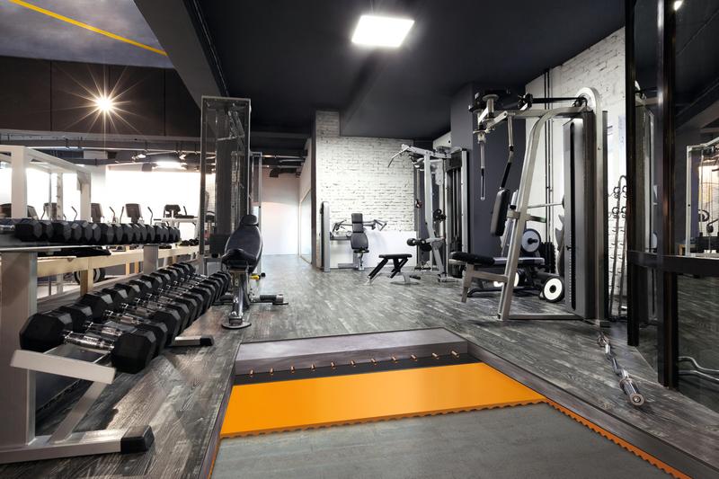 Acoustic Floor Mat Fußbodenaufbau