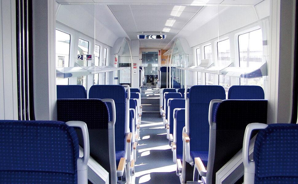 Getzner Floating Floor in Railcars