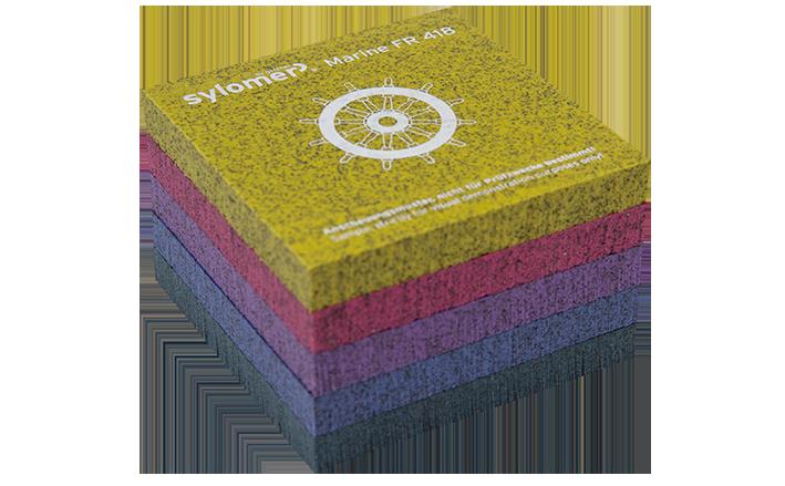 Material Series Sylomer Marine Sampels