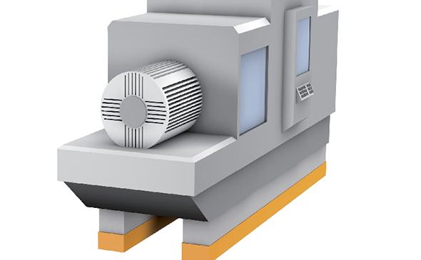 Getzner-Produkte-Industrie-Streifenförmige-Maschinenlagerungen