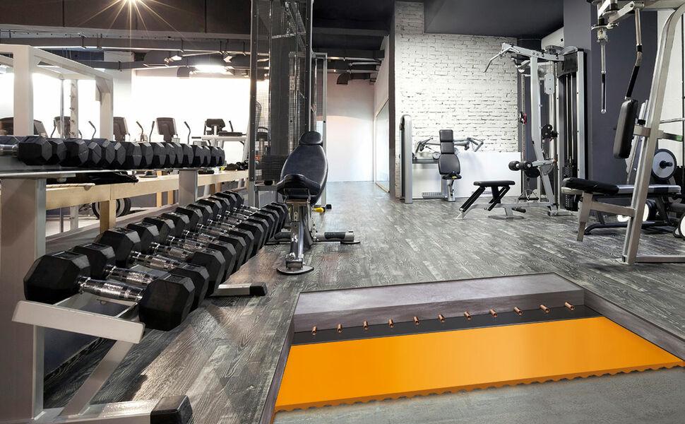 Acoustic Floor Mat Fitness Center