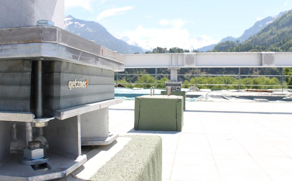 Heliport Interlaken, Schweiz, Punktlagerung, Point Bearing
