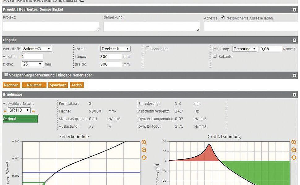 Screenshot FreqCalc