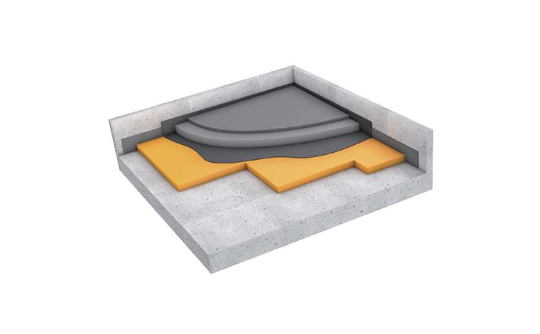 Fußboden Jordan ~ Impact noise insulation for floors getzner werkstoffe