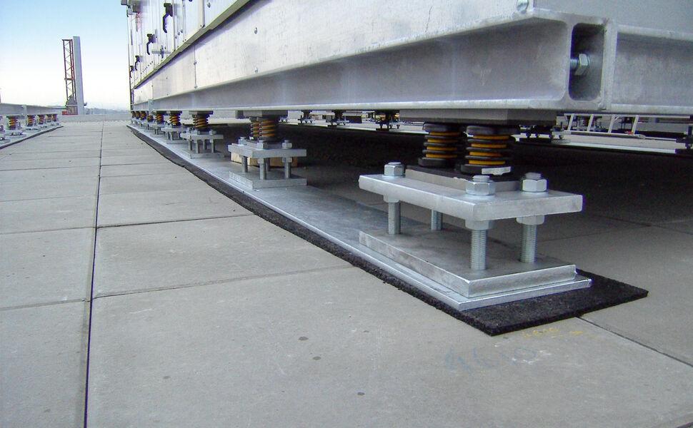 Bearing of an air handling unit