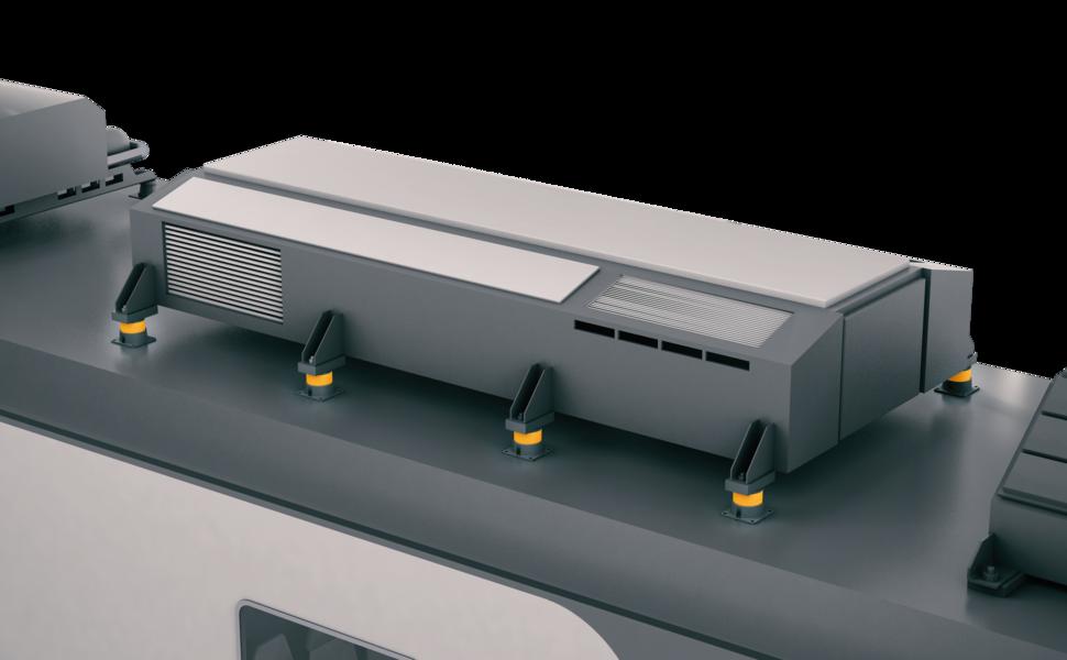 DZE Railway decouling air handling unit