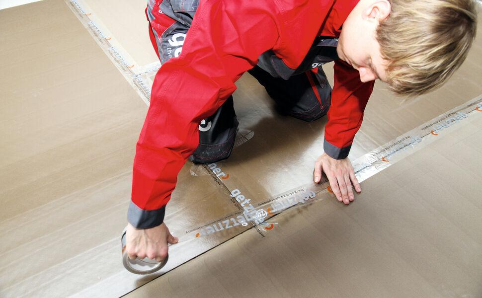Acoustic Floor Mat AFM 31 Installation-1